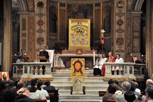 Consegna della stola di Padre Ragheed Aziz Ganni