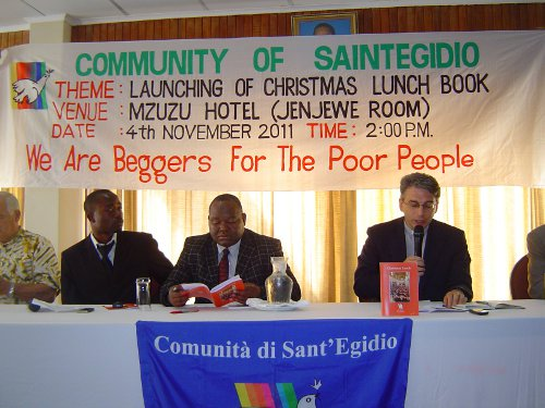 Malawi, the book Christmas lunch
