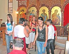 Elbasan (Albania): Preghiera con i Malati dell'ospedale psichiatrico