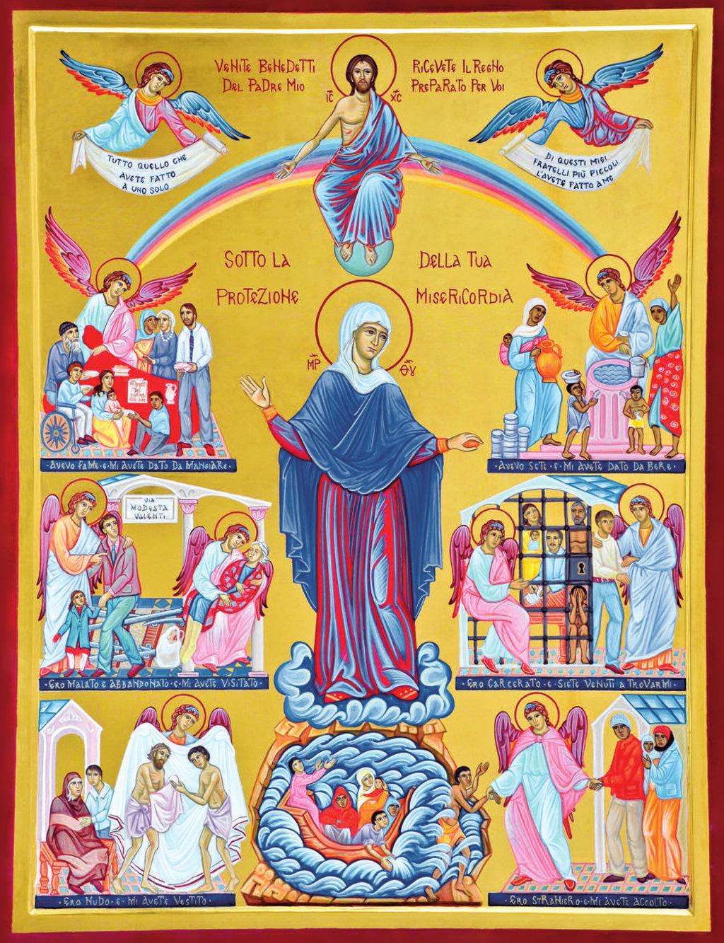 icone di misericordia