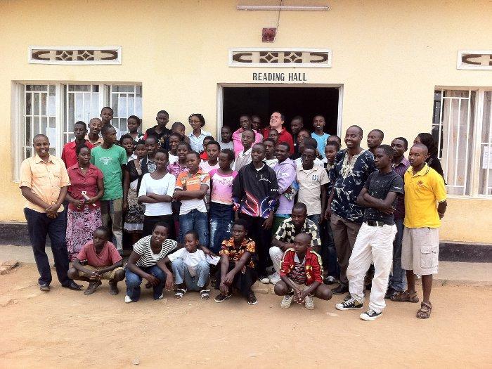 La scuola della Pace della Comunità di Sant'Egidio a Kigali (Rwanda)