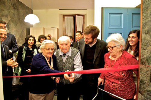 viva gli anziani inaugurazione della casa famiglia per