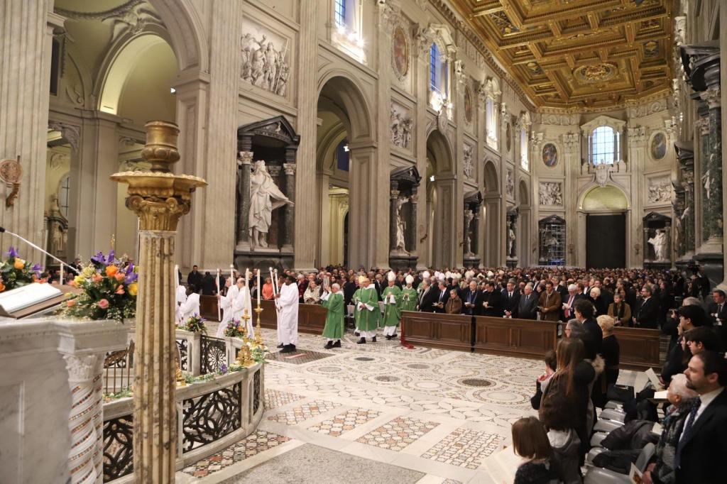 Sant'Egidio turns 52: Service of Thanksgiving in the Cathedral of Rome