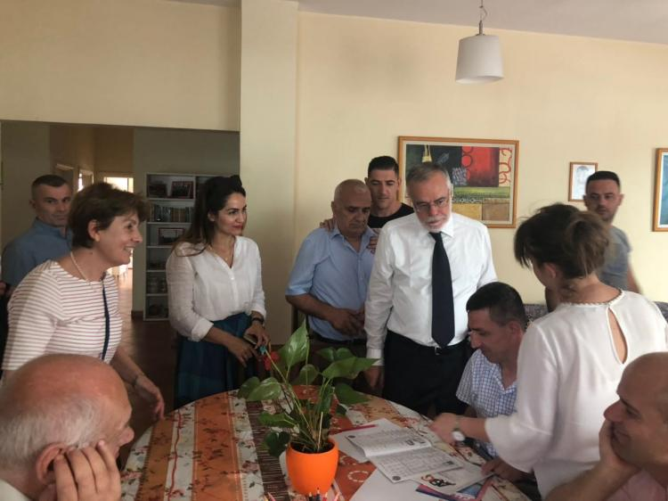 A red thread between Italy and Tirana: Andrea Riccardi visiting the