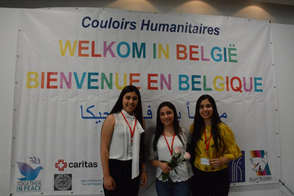Humanitarian corridors in Belgium: Europe that welcomes