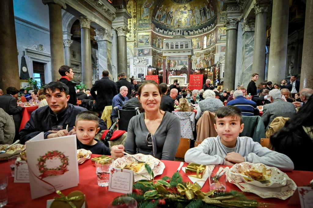 Christmas with Sant'Egidio: when those who help get mixed with those who are helped