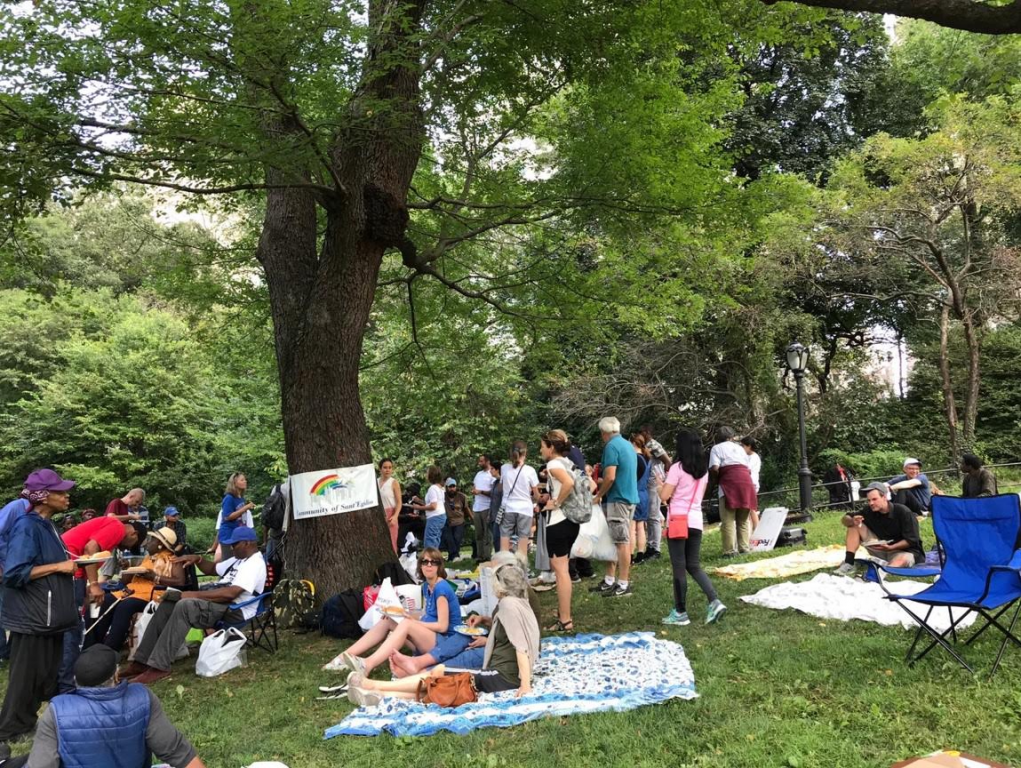 Pique-nique à Central Parc : le #santegidiosummer à New York