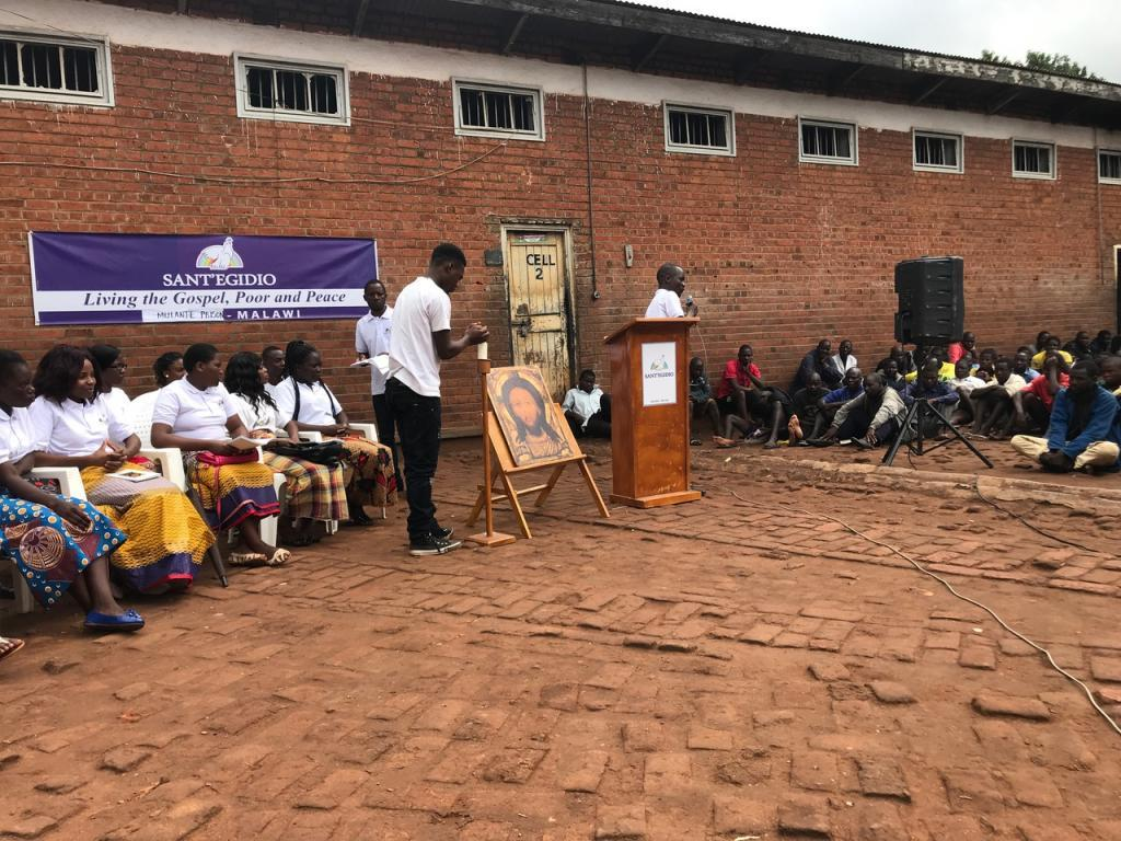 A building for vocational education workshops:  a gift of Sant'Egidio to Mulanje Prison, Malawi