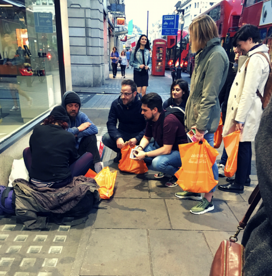 Connecting the dots of Mercy. A London story.