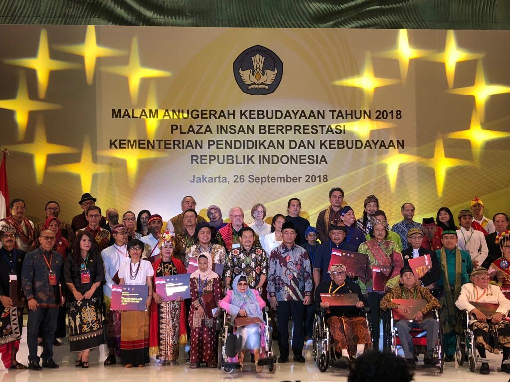 The Indonesian Ministry of Culture Award to Sant'Egidio for the promotion of Peace and Dialogue between religions