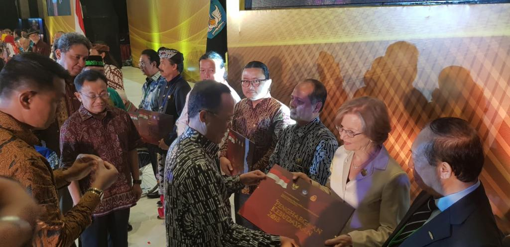 The Indonesian Ministry of Culture Award to Sant'Egidio for the promotion of Peace and Dialogue
