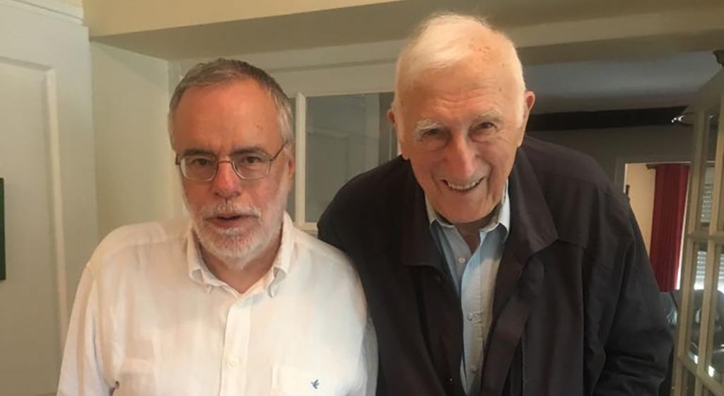 Andrea Riccardi visits Jean Vanier in Paris: a long friendship by the side of the vulnerable