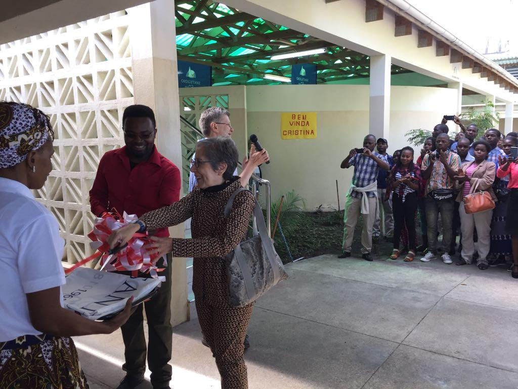 #Sant'Egidio50th - The visit of Cristina Marazzi to the Community in Mozambique