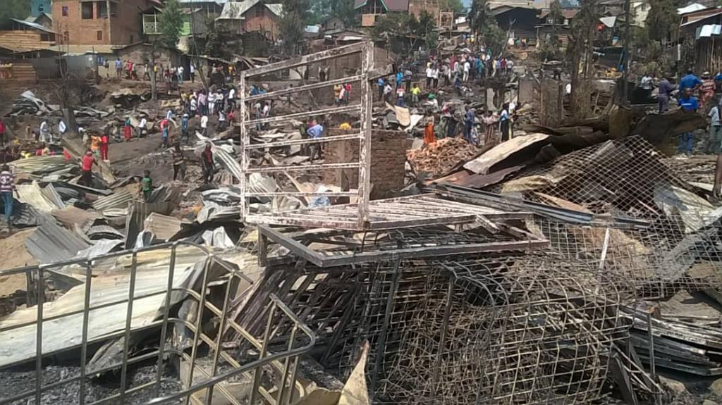 DRC, a fire devastates 300 shacks in Bukavu: Sant'Egidio is close to the population