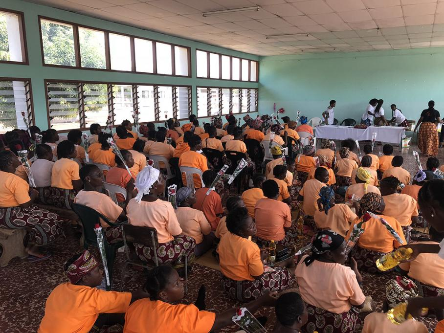 """Eu DREAM"" activists are celebrating Women's Day in Mozambique with the inmates of Ndlavela Prison"