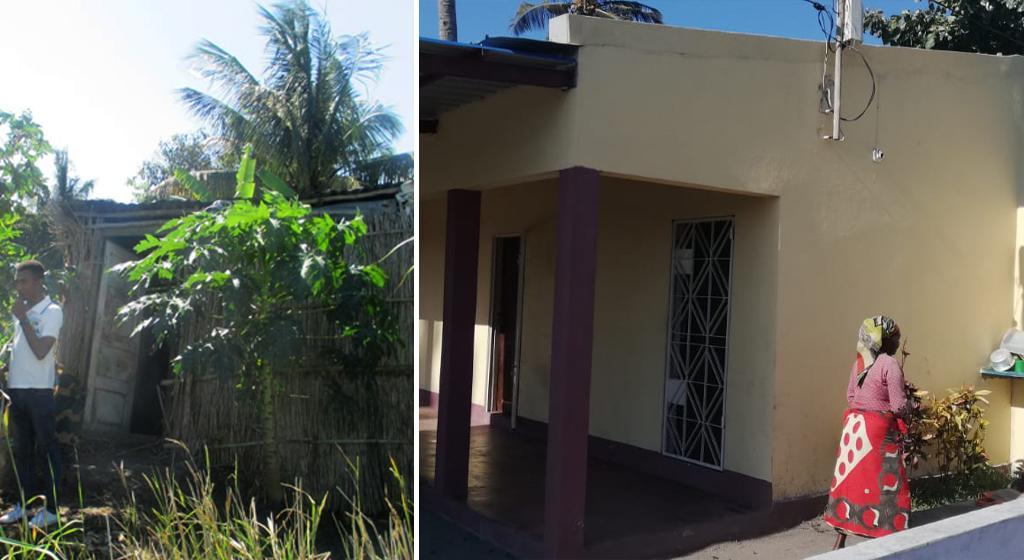 A family home for the elderly in Beira, because the elderly are our future