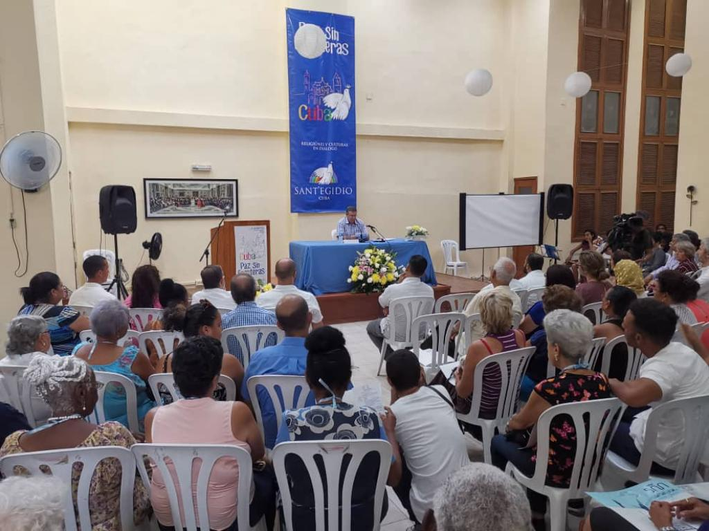 Also in Cuba peace know no borders: two days of dialogue and prayer in Havana #pazsinfronteras