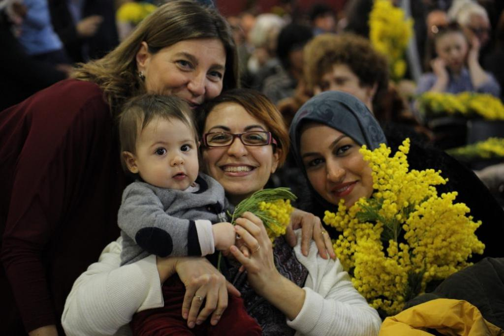 #IWD2018: Warm wishes from Sant'Egidio to all women working for peace and integration.