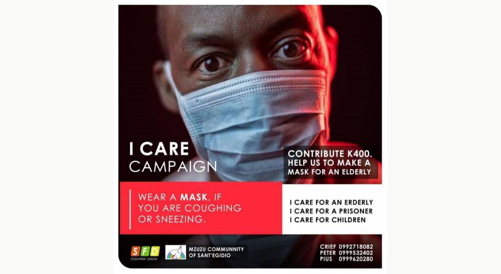 I Care campaign: in Malawi children, elderly and inmates at the centre of Sant'Egidio action to prevent coronavirus