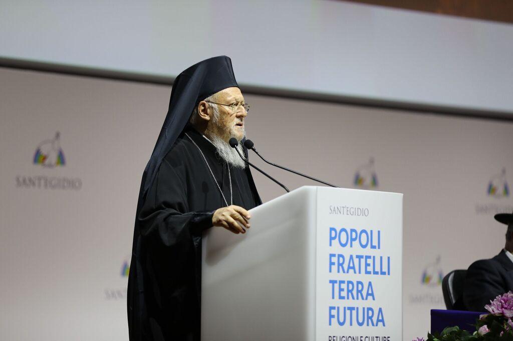 El patriarca Bartolomé
