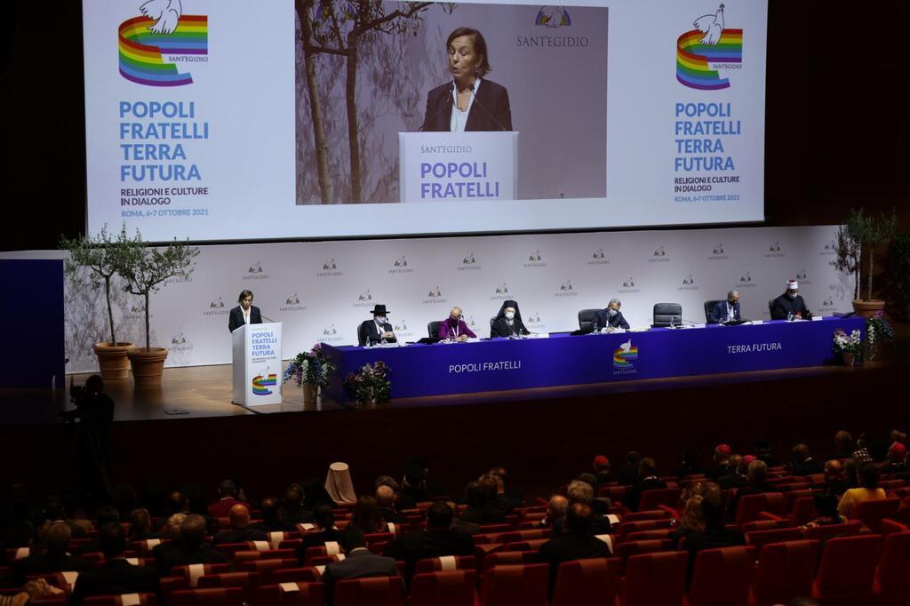 Inauguración del congreso de SantEgidio