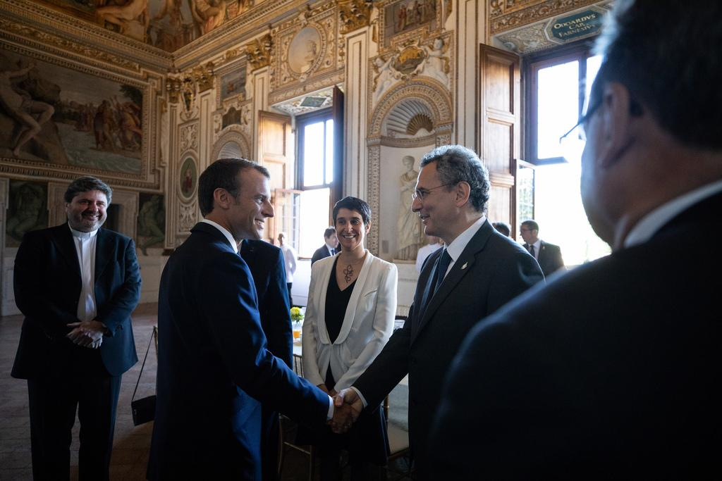President Macron meets Sant'Egidio: Africa's development, Humanitarian Corridors and the culture of dialogue