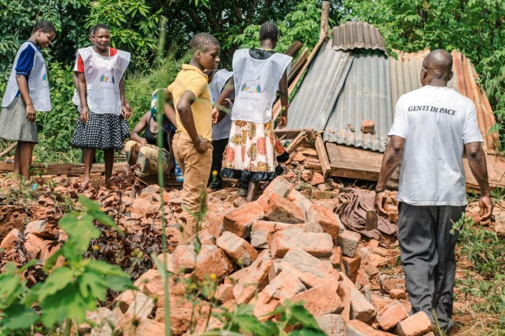 Malawi, a roof for the elderly in the wake of cyclone Idai