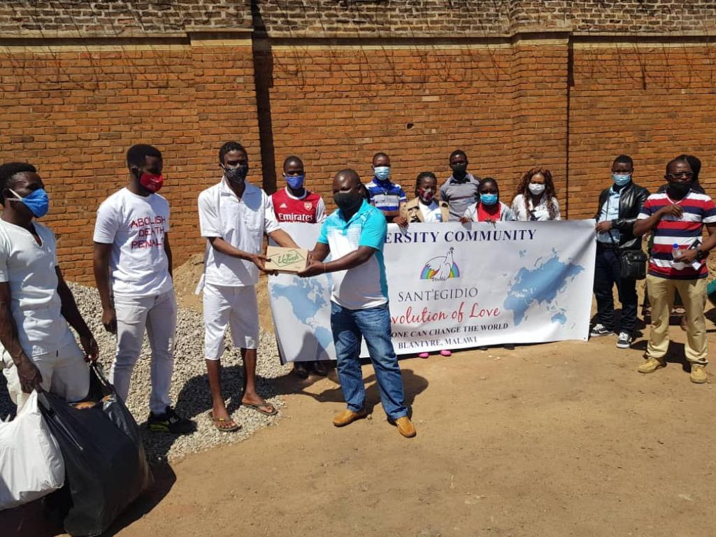 "The University Students of Sant'Egidio in Malawi have launched the ""Revolution of Love"