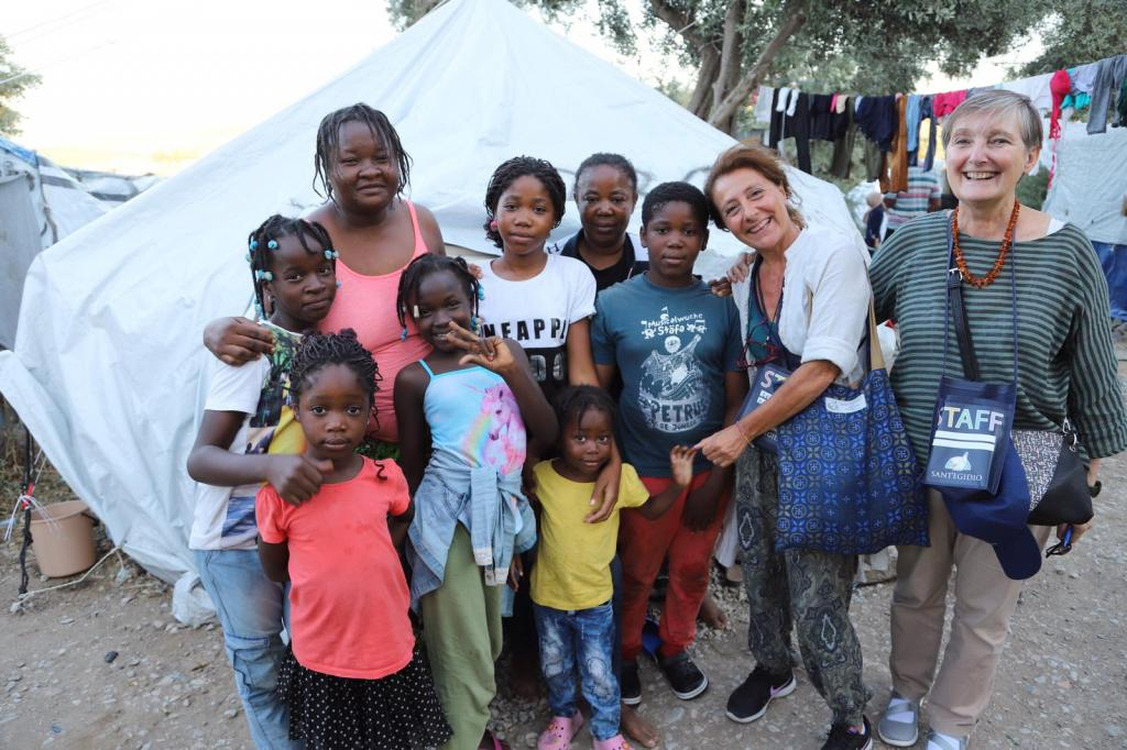 In Lesbos and Samos where solidarity has landed: #santegidiosummer starts with refugees in the Greek islands