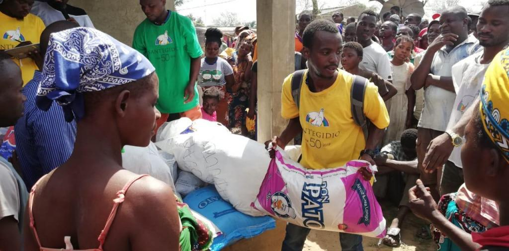 Cyclone response reaches isolated villages in Mozambique