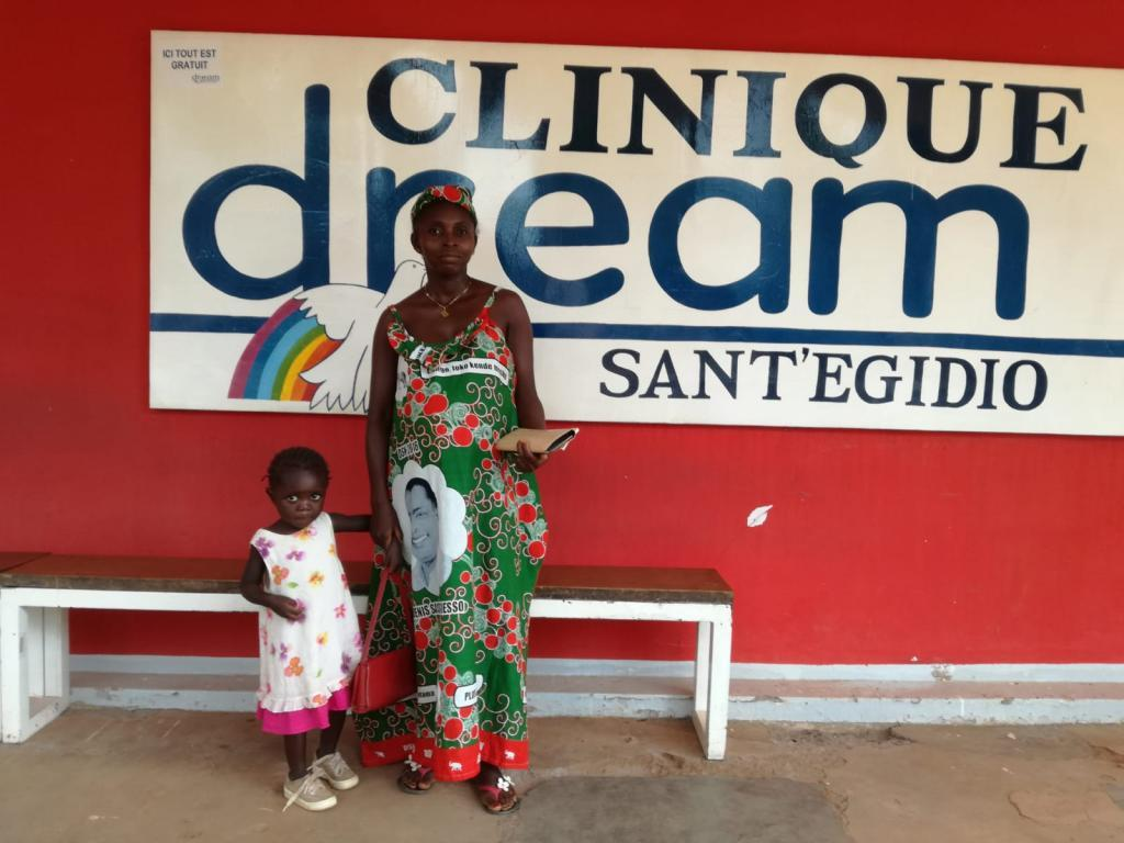 When life wins over war. Clinique DREAM celebrating one year of free HIV treatment.