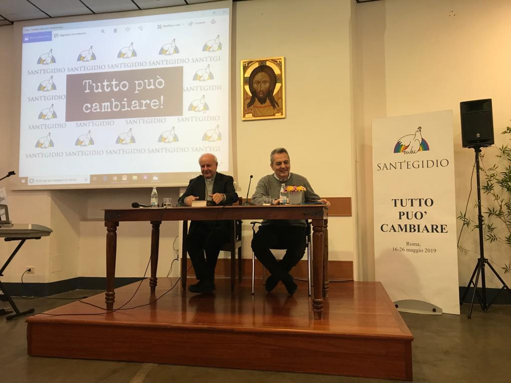 "Mons. Vincenzo Paglia at Sant'Egidio International Congress: ""The Word of God and the life of the Community"