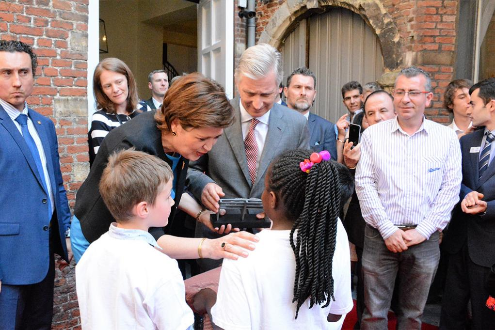 King Philippe of Belgium visited Sant'Egidio for the 50th anniversary of the Community