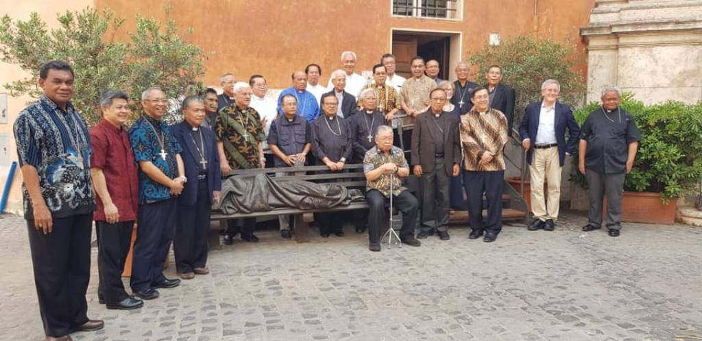 Ad Limina Amicorum: the meeting of the Indonesian Bishops with Sant'Egidio